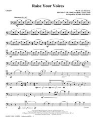 Raise Your Voices - Cello