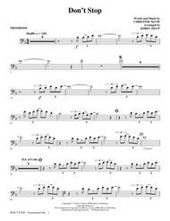 Don't Stop - Trombone