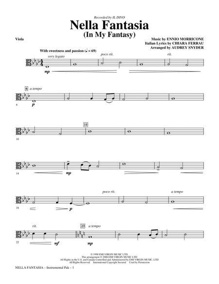 Nella Fantasia (In My Fantasy) - Viola