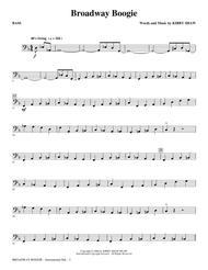 Broadway Boogie - Bass