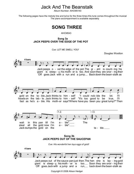 Song 3 (from Jack And The Beanstalk)