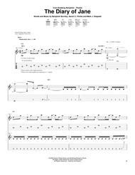 The Diary Of Jane By Breaking Benjamin Digital Sheet Music For Guitar Tab Download Print Hx 29915 Sheet Music Plus