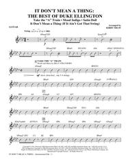 It Don't Mean A Thing: The Best Of Duke Ellington (Medley) - Guitar
