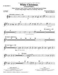 White Christmas (Choral Medley) - Bb Trumpet 1