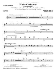 White Christmas (Choral Medley) - Tenor Sax