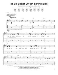 I 039 D Be Better Off In A Pine Box By Doug Stone Steve Clark Digital Sheet Music For Guitar Tab Download Print Hx 30252 Sheet Music Plus