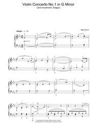 Violin Concerto No.1 In G Minor (2nd Movement)