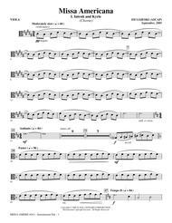 Missa Americana - Viola