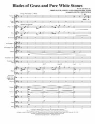 Blades Of Grass And Pure White Stones - Full Score