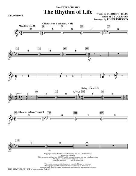 The Rhythm Of Life - Xylophone