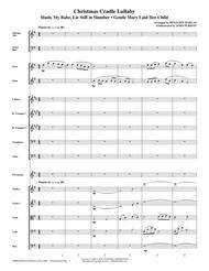 Christmas Cradle Lullaby - Full Score