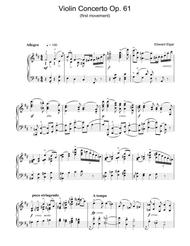 Violin Concerto Op.61 (first movement)