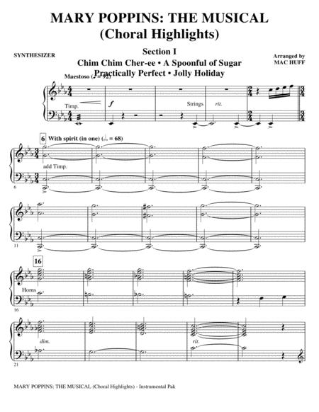 Mary Poppins: The Musical - Synthesizer