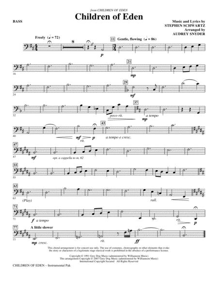 Children of Eden - String Bass