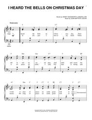 I Heard The Bells On Christmas Day By Henry Wadsworth Longfellow - Digital Sheet Music For ...