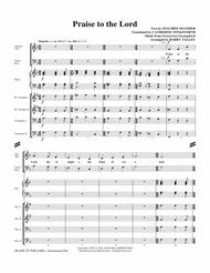 Praise To The Lord - Full Score