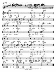 Nobody Else But Me By Jerome Kern Oscar Hammerstein Digital Sheet Music For Real Book Melody Chords Lyrics Download Print Hx 39271 Sheet Music Plus It might drive the boys crazy. nobody else but me