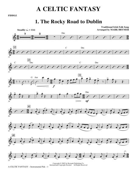 A Celtic Fantasy - Fiddle