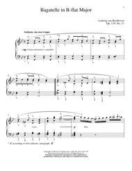Bagatelle In B-flat Major, Op. 119, No. 11