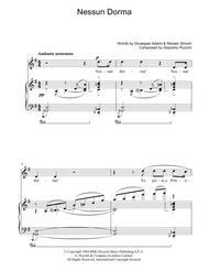 Nessun Dorma (from Turandot)
