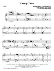 Twenty-Three - Piano