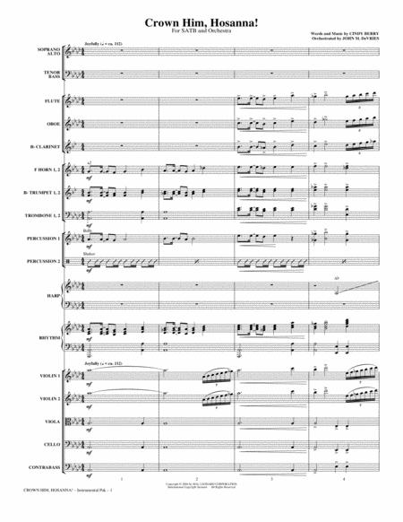 Crown Him Hosanna - Full Score