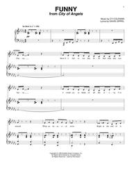 Download Funny Sheet Music By Cy Coleman - Sheet Music Plus