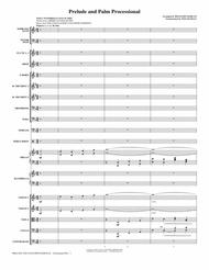 Prelude And Palm Processional - Full Score