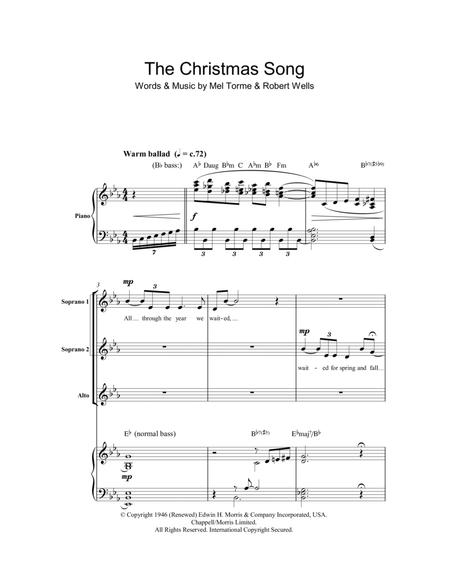 The Christmas Song (Chestnuts Roasting On An Open Fire) (arr. Berty Rice)