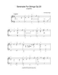 Serenade For Strings Op.20 (Larghetto)