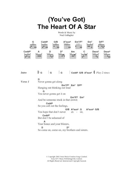You've Got The Heart Of A Star