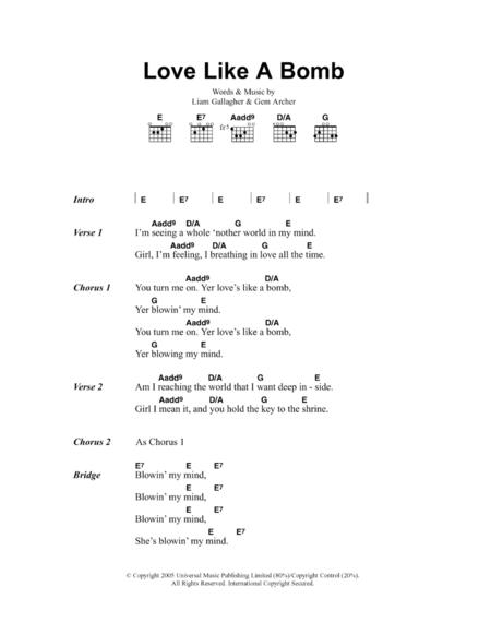 Love Like A Bomb