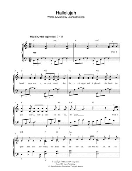 Download Hallelujah Sheet Music By Jeff Buckley Sheet