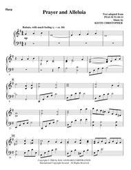 Prayer And Alleluia - Harp