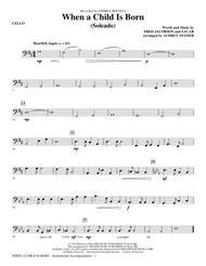 When A Child Is Born (Soleado) - Cello