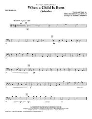 When A Child Is Born (Soleado) - String Bass