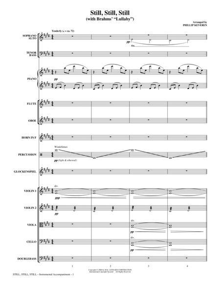 Still, Still, Still (with Brahms' Lullaby) - Full Score