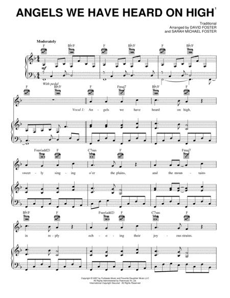 Download Angels We Have Heard On High Sheet Music By Josh Groban ...