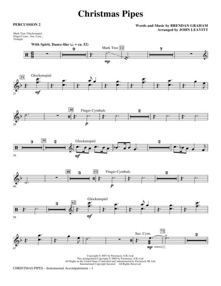 Christmas Pipes - Percussion 2