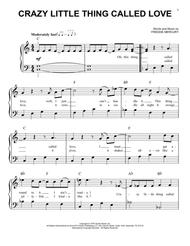 Download Crazy Little Thing Called Love Sheet Music By Freddie Mercury