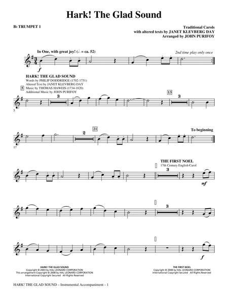Hark! The Glad Sound (Medley) - Bb Trumpet 1