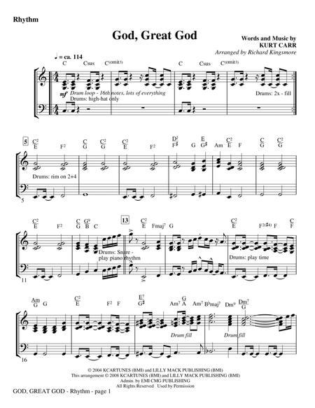 God, Great God - Violin 1 & 2