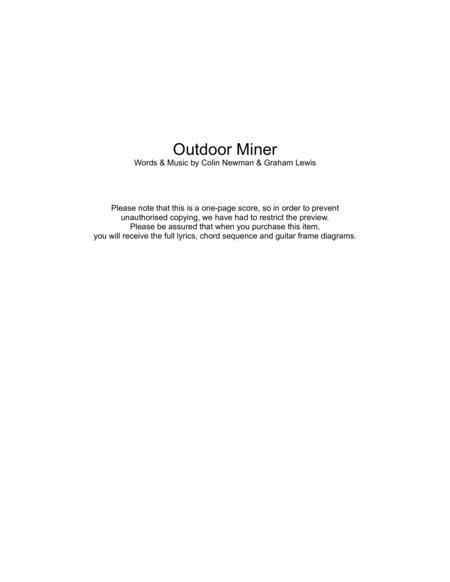 Outdoor Miner