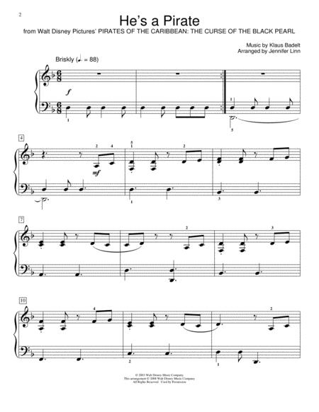 Download He's A Pirate Sheet Music By Klaus Badelt - Sheet