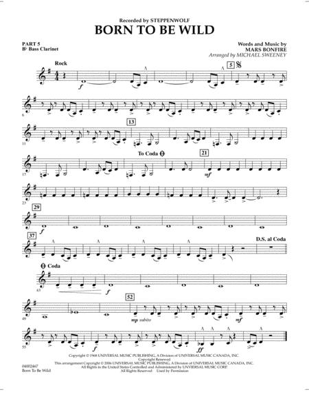 Born to Be Wild - Pt.5 - Bb Bass Clarinet
