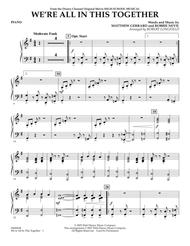 high school musical piano sheet music