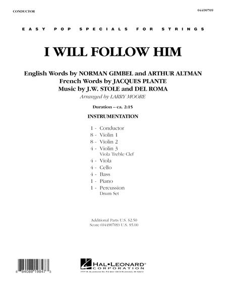 I Will Follow Him - Full Score