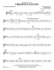 I Believe I Can Fly - Eb Baritone Saxophone