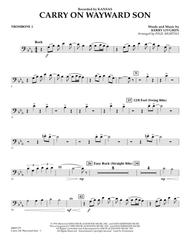 Download Carry On Wayward Son - Trombone 1 Sheet Music By Kansas