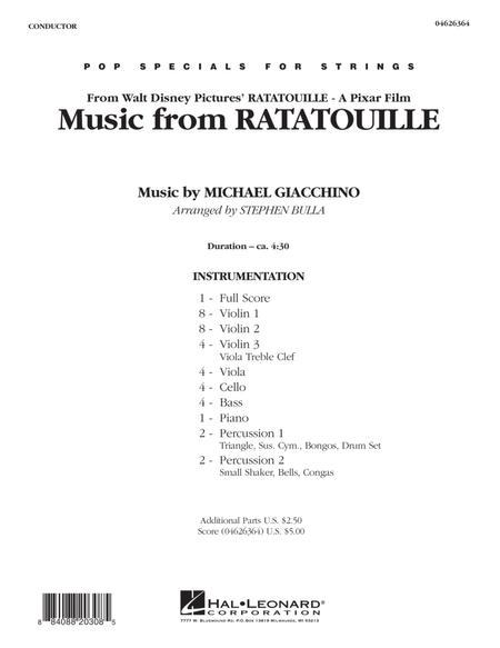 Music from Ratatouille - Full Score